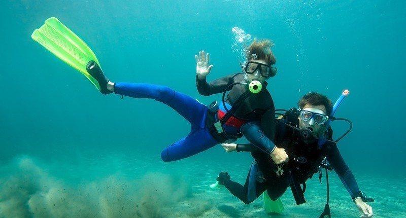 maui scuba diving fun