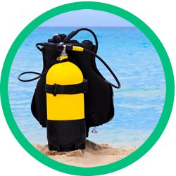 We provide top scuba diving gear