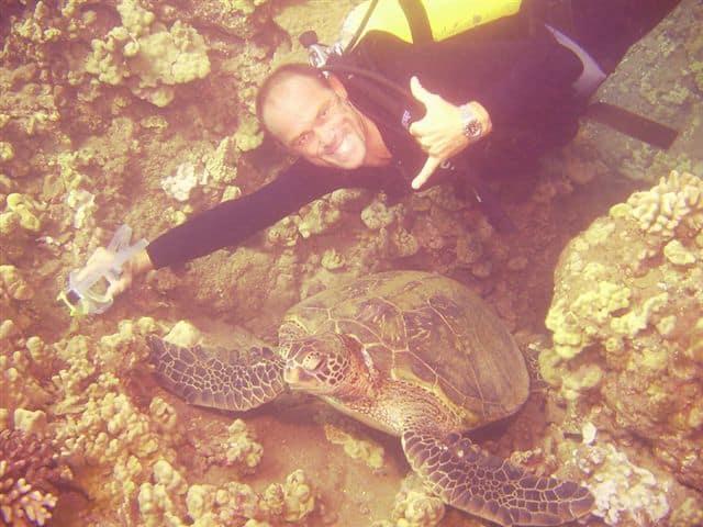 Maui Scuba Mike Shaka Diver