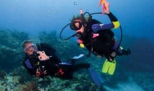 scuba diving lessons Maui