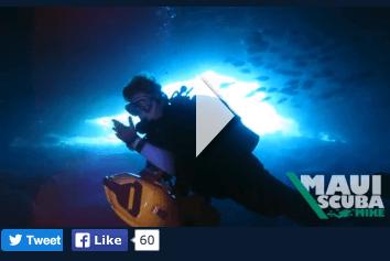 scuba diving video maui